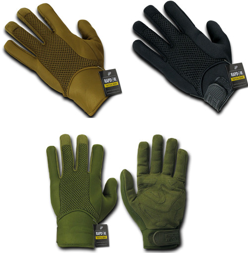 Neoprene Tactical Gloves With Neoprene Cuff Sizes S to 2XL