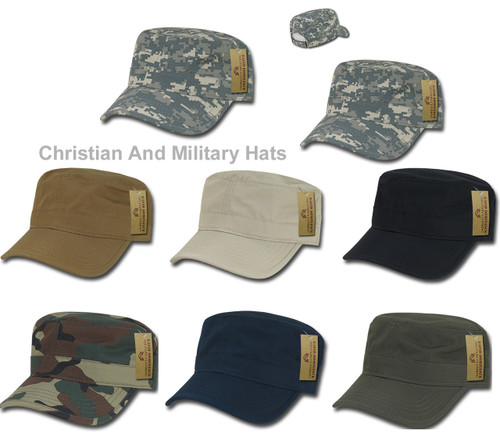 RipStop BDU Patrol Fatigue Military Spec Tactical Duty Hat  Adjustable Caps Cap