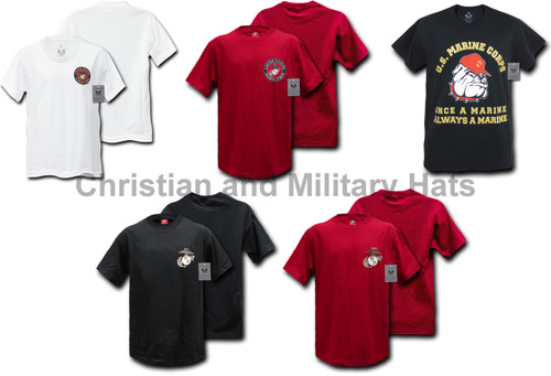 USMC MARINES UNITED STATES MARINE CORP T-SHIRTS MILITARY TEE Sizes S-2XL