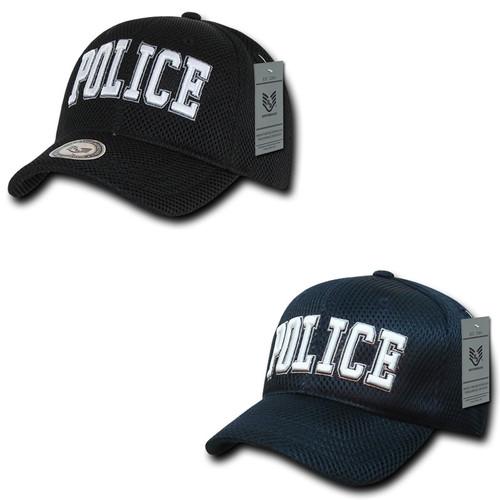 Police Department Air Mesh Baseball Hat Baseball Cap