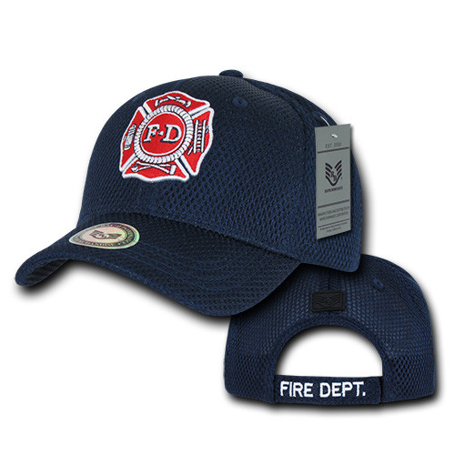 Fire Department Hat Baseball Cap Publice Service