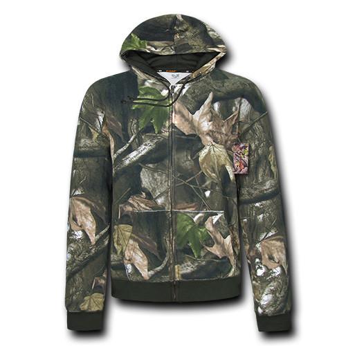 HYBRiCAM Full Zip Hunting Hoodie Lightweight Jacket