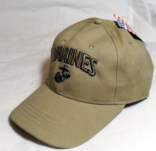 US MILITARY MARINE CORPS USMC Officially Licensed Made In USA Military Hat Baseball Cap