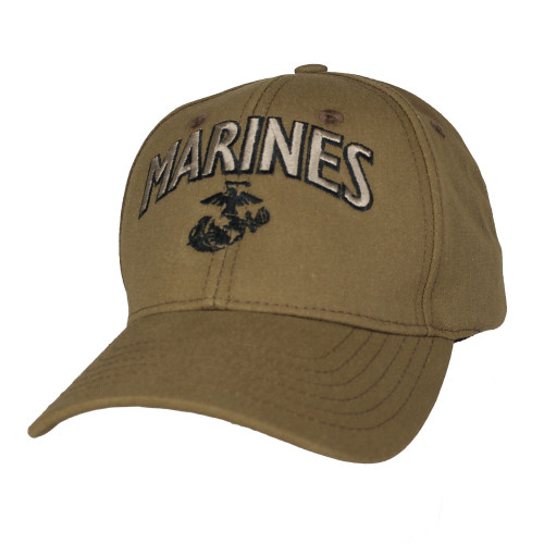 U.S MARINE CORPS HAT U.S MILITARY USMC OFFICIALY LICENSED BALL CAP MADE IN USA