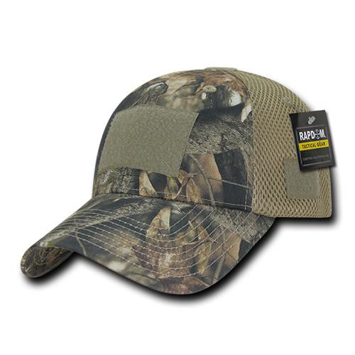424e6edf4 HYBRiCAM Air Mesh Hunting Operator Tactical Cap Grey Bark Baseball Cap Hat