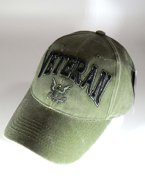 US NAVY UNITED STATES NAVY VETERAN - ODG Officially Licensed Baseball Cap Hat