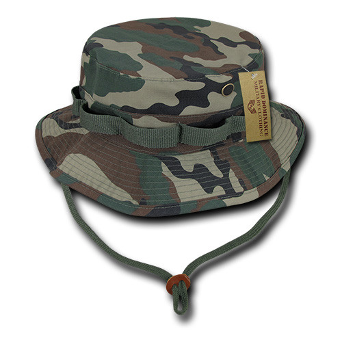 9fcdd5c540 WoodLand Military Spec Ripstop Boonie Hunting Fishing Outdoor Hiking Bucket Jungle  Hat