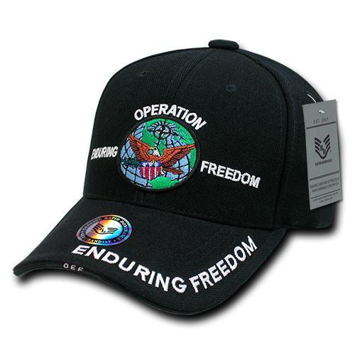 Operation Enduring Freedom Veteran Military Hat Baseball Cap (You Are Appreciated)