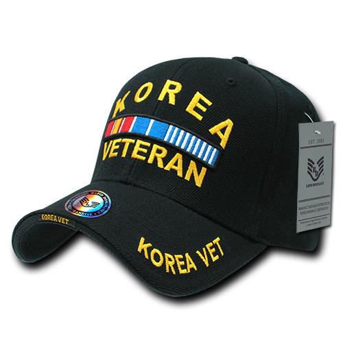 Korean War Veteran with Ribbons Military Hat Baseball Cap (You Are Appreciated)