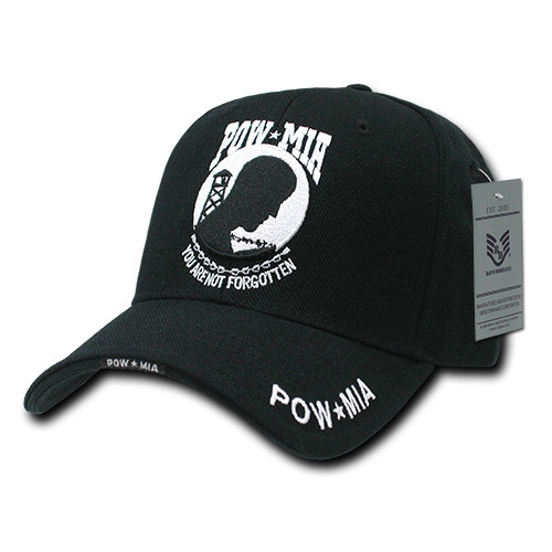 POW MIA Missing in Action Military Hat Baseball Cap (You Are not Forgotten)) a62f8c99c0a