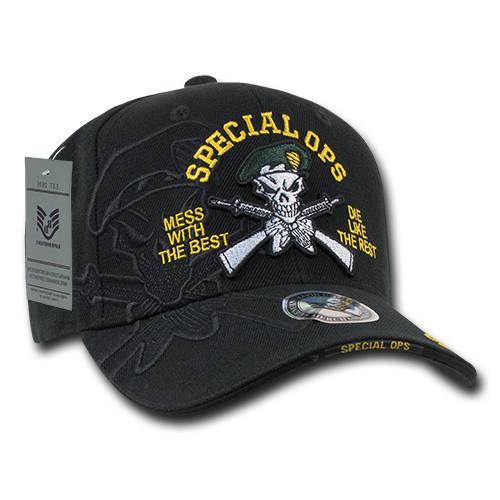 Special Ops Green Beret Shadow Cap Military Hat Baseball Cap 9aab96ddc46