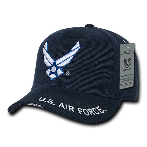 USAF US Air Force Military Hat With HAP OFFICIALLY LICENSED  Baseball Cap Hat