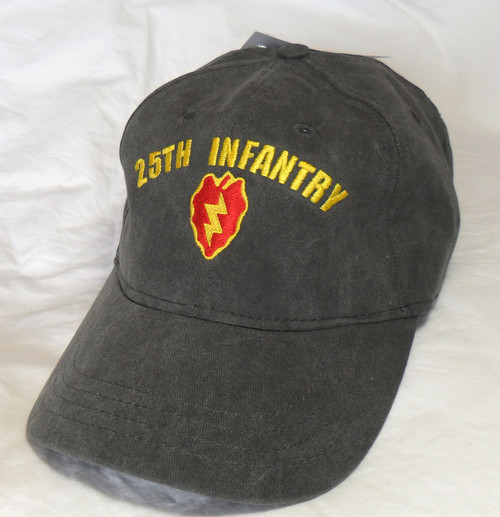 US ARMY 25TH INFANTRY Made In USA Military Hat Baseball Cap