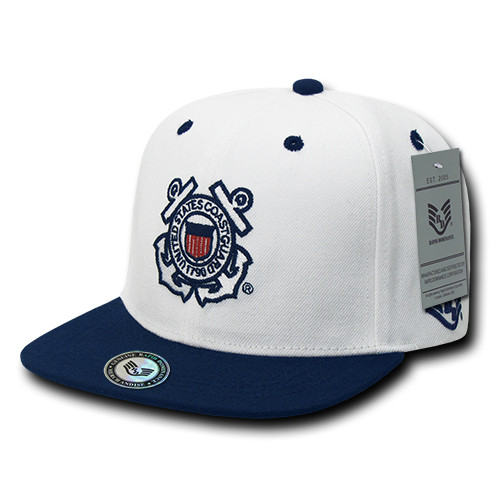 3f77ccb6d09bd USCG United States Coast Guard Military Hat OFFICIALLY LICENSED Baseball  Cap Hat