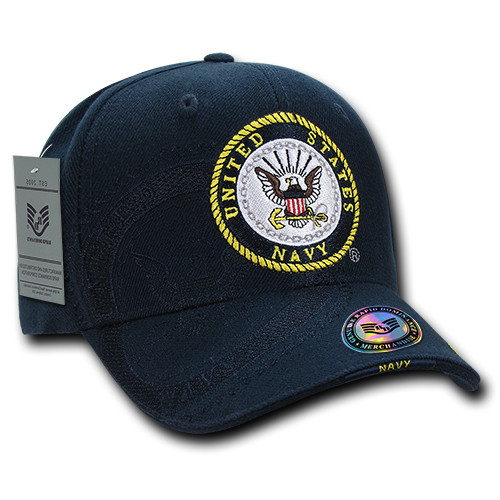 US Navy United States Navy Military Shadow Cap OFFICIALLY LICENSED Baseball Hat