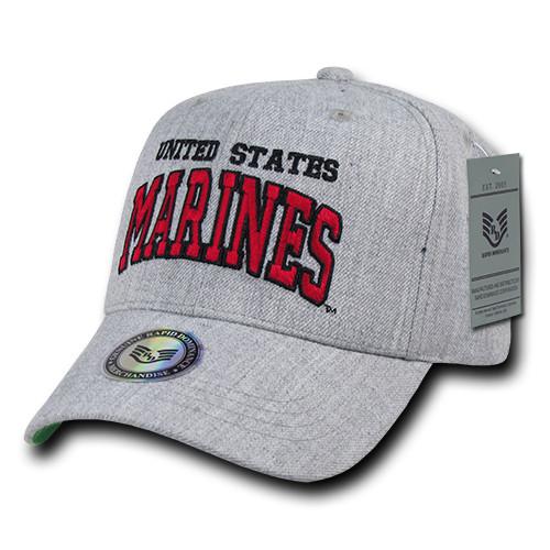 Gray United States Marines USMC OFFICIALLY LICENSED Baseball Cap Hat