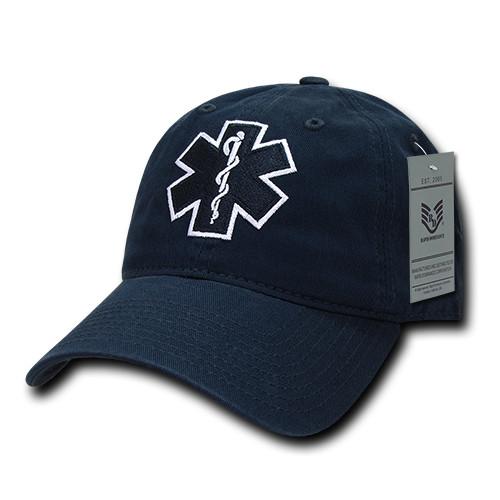 EMT Emergency Medical Technician  Relaxed Fit Baseball Cap Hat
