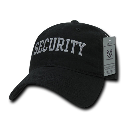Security Law Enforcement Relaxed Fit Hat Baseball Cap Hat