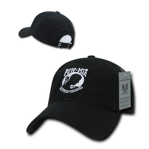 9a46fa191f3 ... POW MIA Missing in Action Relaxed Fit Military Hat Baseball Cap (Gone  but not Forgotten