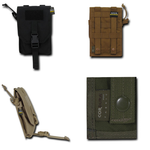 Utility Pouch With Cover Attaches to any M.O.L.L.E. compatible system Life Time Warranty
