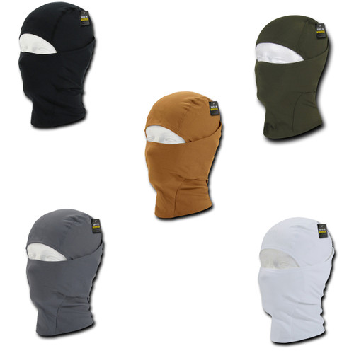 Convertible Tactical Balaclava LifeTime Warranty provides full head, neck, and face protection