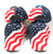 4 Pack Red White and Blue Stars and Stripes American Flag Patriotic Baseball Hat Cap
