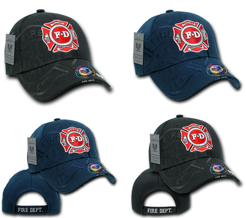 Fire Fighter Fire Department Hat Baseball Cap (Your service is Appreciated) 90301f01bd1