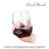 L'Grand Conundrum Aerator Decanter & Glasses