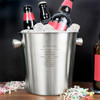 Personalised Stainless Steel Beer Bucket