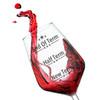 End of Term Teachers Wine Glass