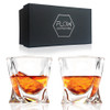 Twisted Whisky Glasses by FLOW barware