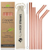 Reusable Copper Drinking Straws Flowecostraws