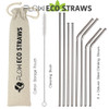 Reusable Steel Drinking Straws by Flow Barware