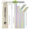 Reusable metal Straws FLOW ECO Straws