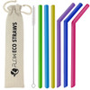 Reusable Silicone Drinking Straws by Flow Barware