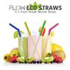 Reusable Drinking Straws b FlowEcoStraws