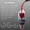 How the Flow wine aerator works