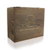 Deco Crystal Whisky Glasses & Stones Box Set