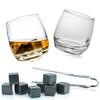 Rocking Whisky Glasses & Stones Box Set by FLOW Barware