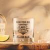 Pirate Rum Glass