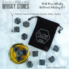 Flow Barware Diamond Shaped Whiskey Stones