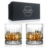 Geo Whisky Glasses Gift Set