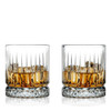 Geo Old Fashioned Whisky Glasses FLOW Barware