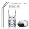 High ball Cocktail Glass Mixer Set