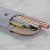 Embossed Copper, Gold, Rainbow Metal Straws