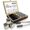 Stainless Steel Whisky Stones Gift Set FLOW Barware