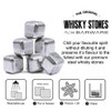 Silver Metal Stainless Steel Drinks Stones