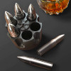 Large Whisky Bullets Reusable Ice Cubes by FLOW Barware