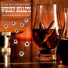 XL GOLD Whisky Bullets by FLOW Barware