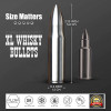 FLOW XL GOLD Whisky Bullet Ice Cubes by FLOW Barware